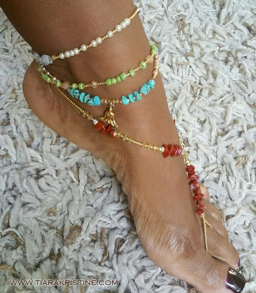 Younique Anklets Tiara Kristine